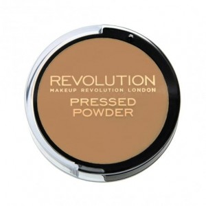 Makeup Revolution  Pressed Powder  Puder prasowany   WARM